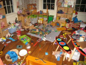 lent messy toy room11 300x225 - Keeping Your Child's Nursery Safe and Clean